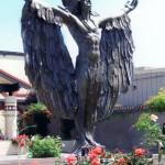 Installed Indian Casino Sculpture