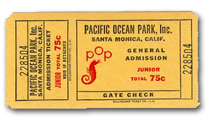 Pacific Ocean Park Ticket