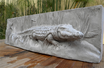Raw Concrete Crocodile