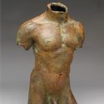 Male Bronze Torso